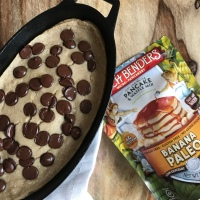 3-Ingredient Paleo Banana Pancake Bread